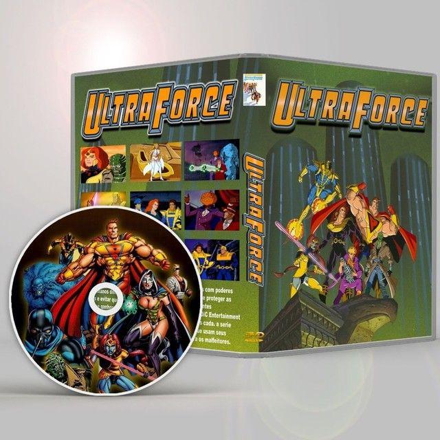 Ultraforce A Serie Animada Completa