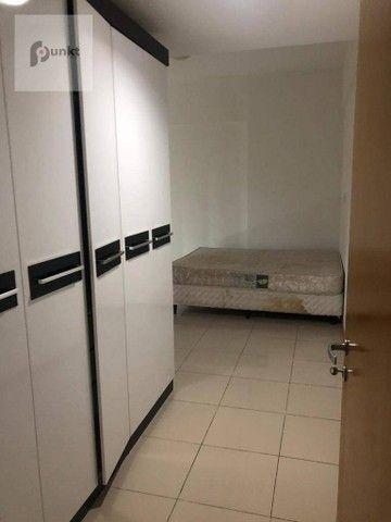 Apartamento com 3 dormitórios para alugar, 156 m² por R$ 4.800/mês - Adrianópolis - Manaus - Foto 2