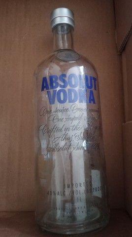 Garrafas Vazias para artesanato Gin whisky vodka - Foto 4