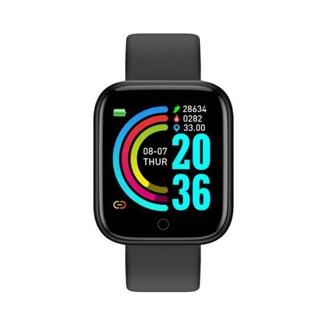 Smartwatch com notificações de mensagem e monitor de exercícios - Foto 2