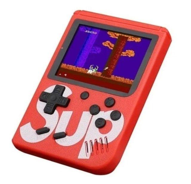 Videogame Portátil 8 bits Retrô 400 Jogos Nintendinho Gamebox - Foto 2