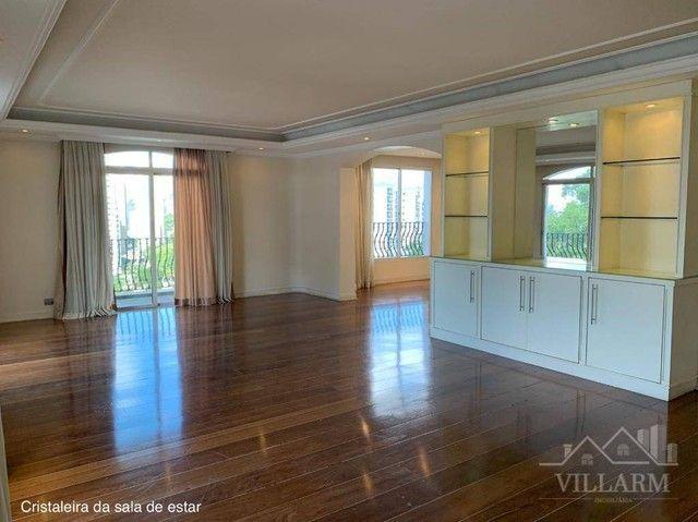 Apartamento com 4 dormitórios para alugar, 340 m² por R$ 3.890,00/mês - Vila Andrade - São - Foto 7