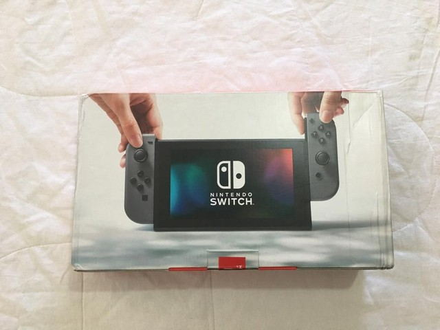 Caixa vazia de Nintendo Switch 1a versão - Foto 4