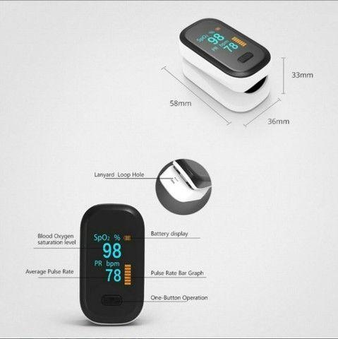 BOXYM Oxímetro de pulso na ponta do dedo, monitor de saturação<br><br> - Foto 3