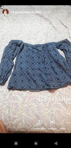 Vendo roupas e calcados Tam P ao M, R$10,00 a R$20,00 - Foto 2