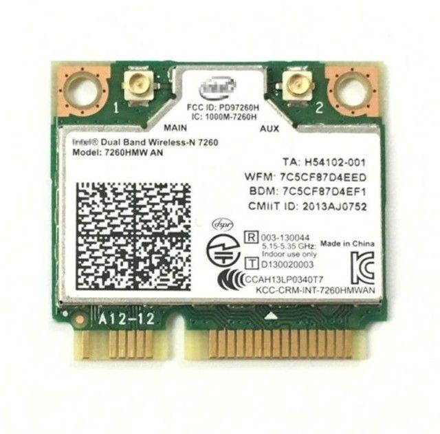 Mini Pci Wireless 5g Dual Band Intel  7260hmw + Bluetooth