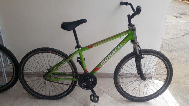 bicicleta de alumínio marca monaco - Foto 2
