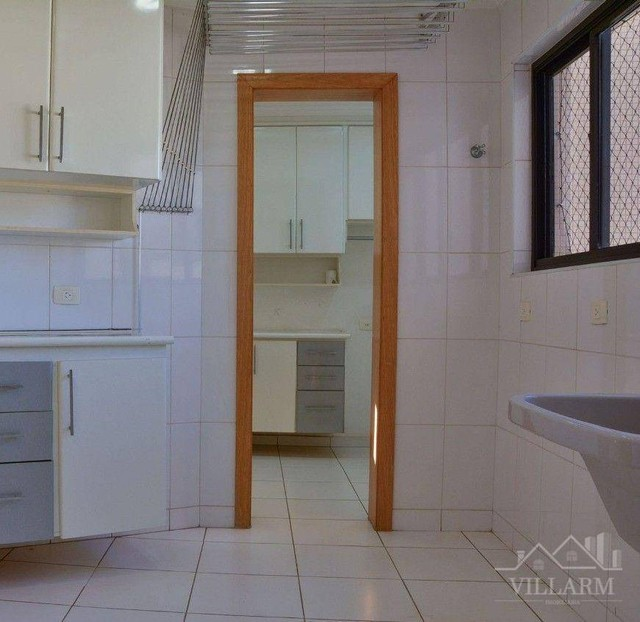 Apartamento com 4 dormitórios para alugar, 196 m² por R$ 5.700,00/mês - Vila Santo Estéfan - Foto 18