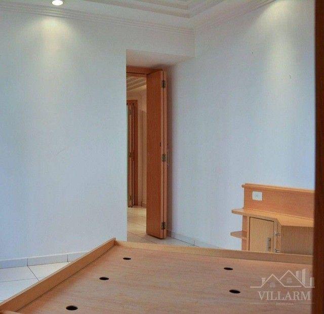 Apartamento com 4 dormitórios para alugar, 196 m² por R$ 5.700,00/mês - Vila Santo Estéfan - Foto 12