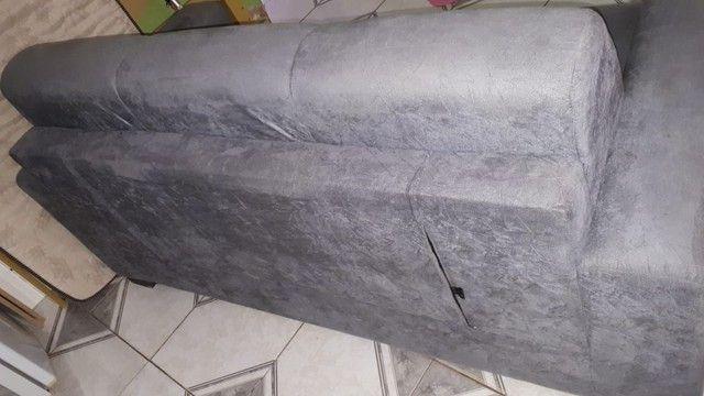 Sofá usado porém novo bem conservado