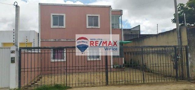 Apartamento com 2 dormitórios para alugar, 50 m² por R$ 500,00 - Francisco Simão dos Santo