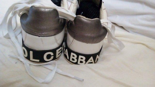 Tênis Dolce Gabbana Portofino 42 - Foto 4