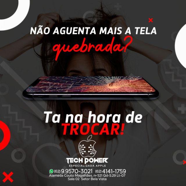 Iphone quebrou a Tela?