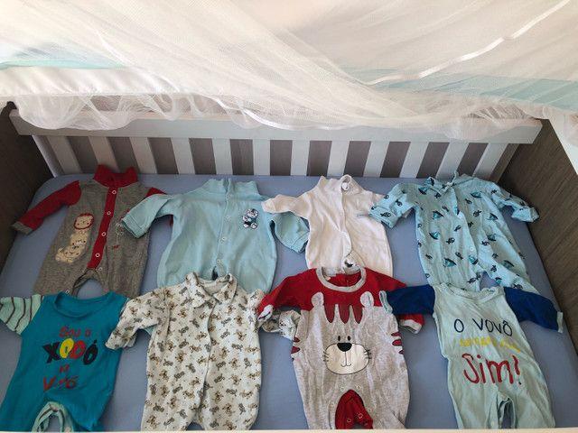 Lote de bebê menino+ protetores e almofada de berço  - Foto 3