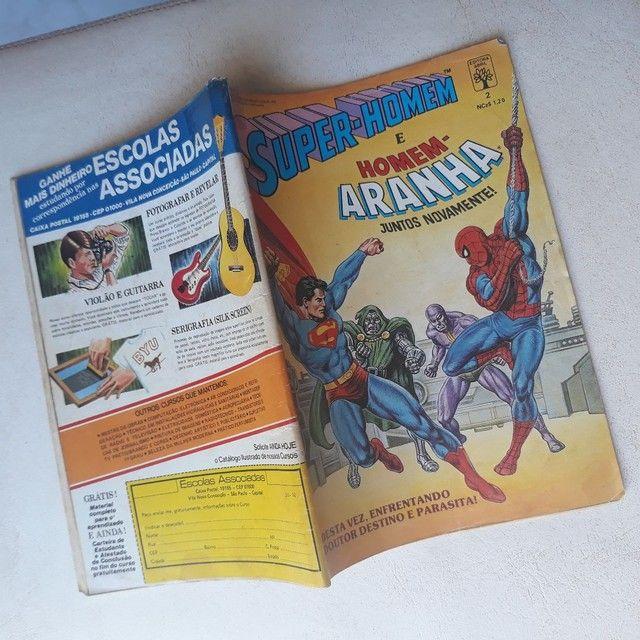 Edição de luxo ( superman / Homem Aranha  - Foto 6