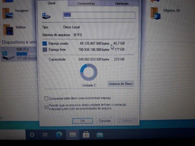 Notebook Dell Inspiron 5468 I5 7ºgeração/8gb/ssd 240gb - Foto 4