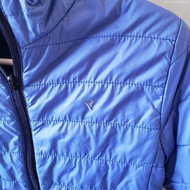 Jaqueta de Nylon infantil reversível tamanho 7-8 - Foto 5