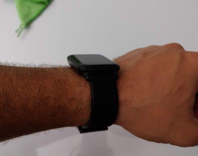 Relógio Smartwatch Amazfit Bip A1608 Onyx Black Original - Foto 2