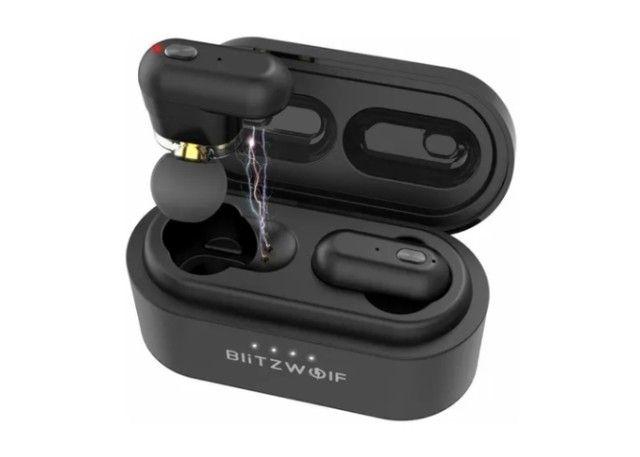 Fones De Ouvido Blitzwolf Bw-fye7 Bluetooth 5.0 original Ipx4 True Wireless - Foto 2