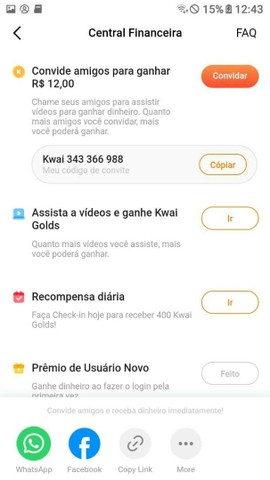 Receba Renda Extra - App p/Celular