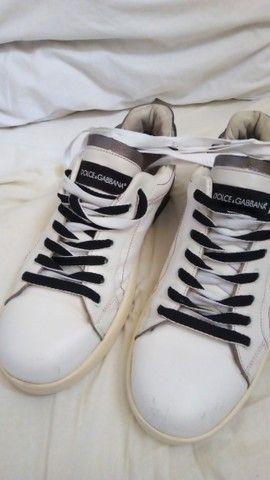 Tênis Dolce Gabbana Portofino 42 - Foto 2
