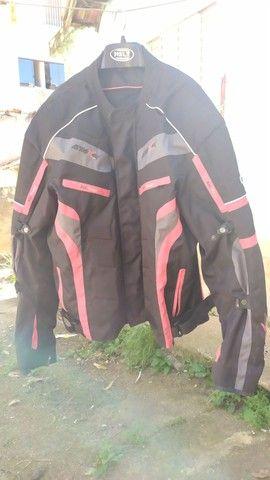 jaqueta de motociclista com proteção - Foto 4
