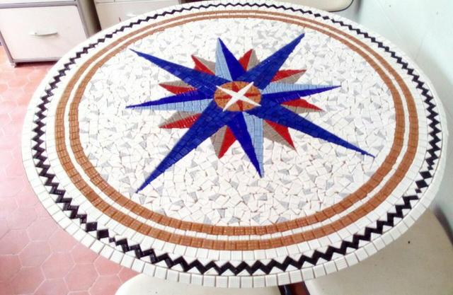 Corinthians Mosaico, Piso, parede, quadro, mesa, piscina - Foto 3