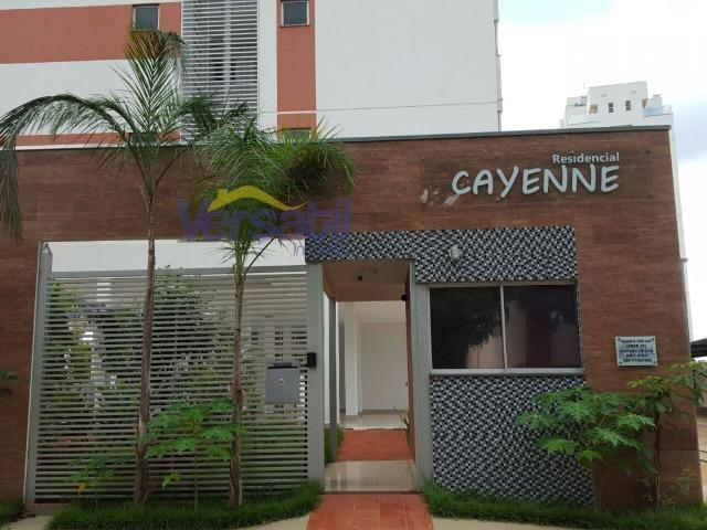 Apto 2Q sendo um suíte - 70 m² - Garagem coberta - No centro de Palmas