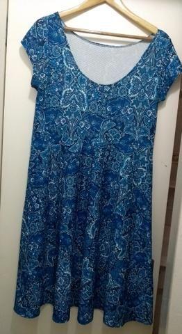 Vestido azul GG - Foto 2