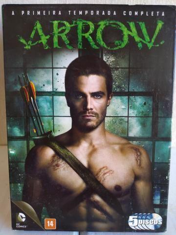 Box DVD ORIGINAL Arrow 1ª a 5ª Temporada