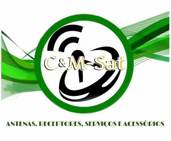 Instalação e venda de antenas e receptores