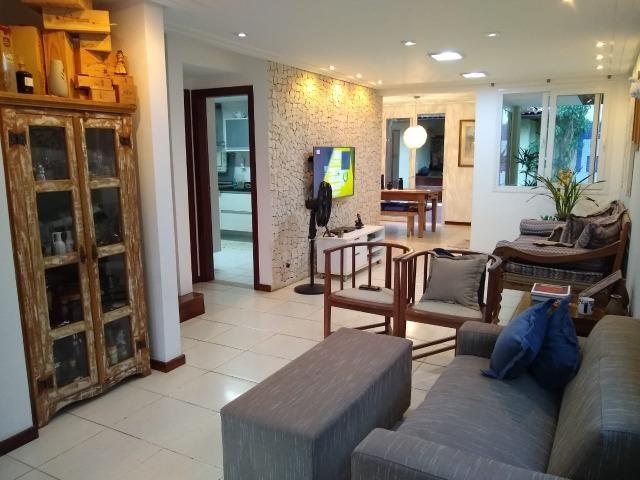 Casa em condomínio fechado 4/4 quatro quartos 222 m2 500 m2 de terreno Jaguaribe - Foto 19