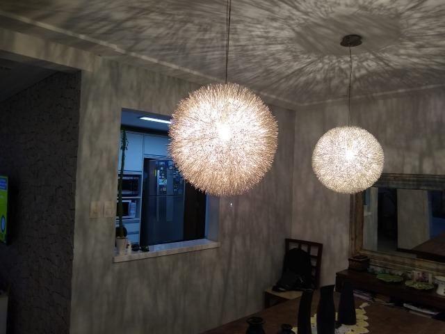 Casa em condomínio fechado 4/4 quatro quartos 222 m2 500 m2 de terreno Jaguaribe - Foto 16