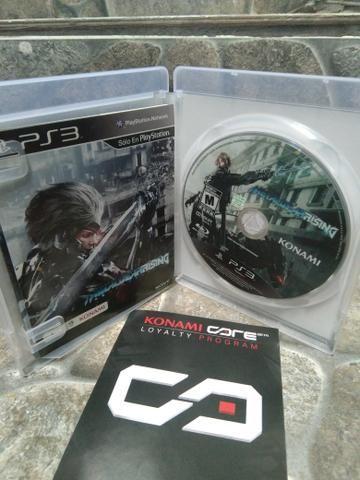 Jogo Metal Gear Rising Ps3 Midia Fisica Original! - Foto 2