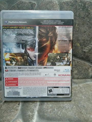 Jogo Metal Gear Rising Ps3 Midia Fisica Original! - Foto 3