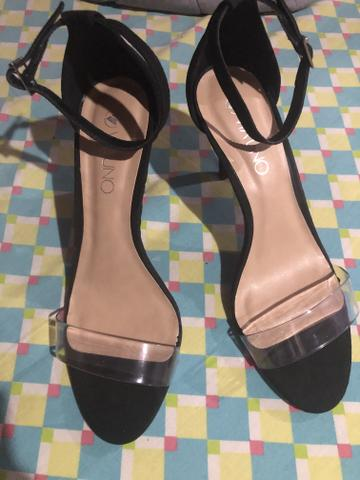 Sapato Saltinho novo 80,00 (tamanho 38) - Foto 4