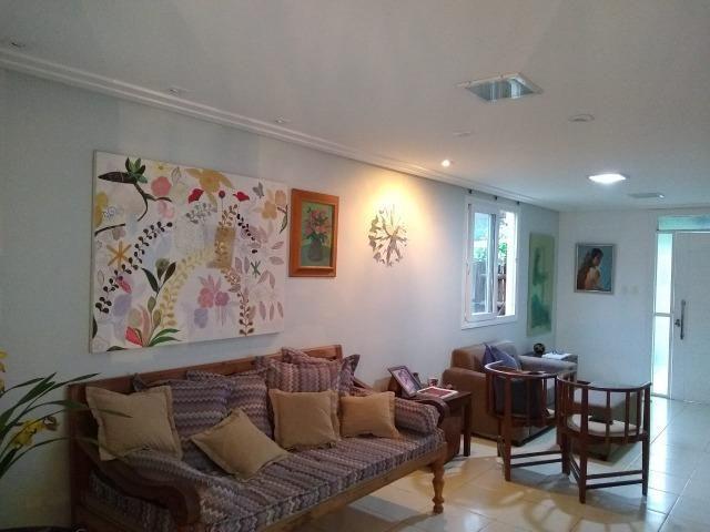 Casa em condomínio fechado 4/4 quatro quartos 222 m2 500 m2 de terreno Jaguaribe - Foto 15