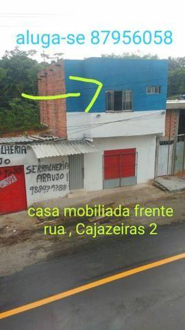 Casa mobiliada frente rua cajazeiras 2