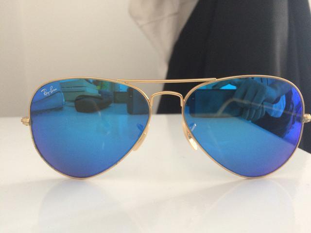 Óculos RAY BAN Azul espelhado - Bijouterias, relógios e acessórios ... bef47dbf1a