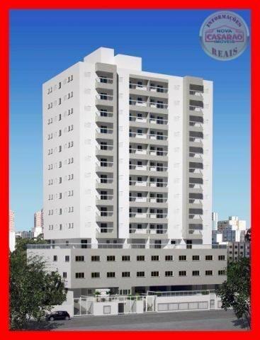 Apartamento com 2 dormitórios à venda, 72 m² por R$ 362.373 - Cidade Ocian - Praia Grande/