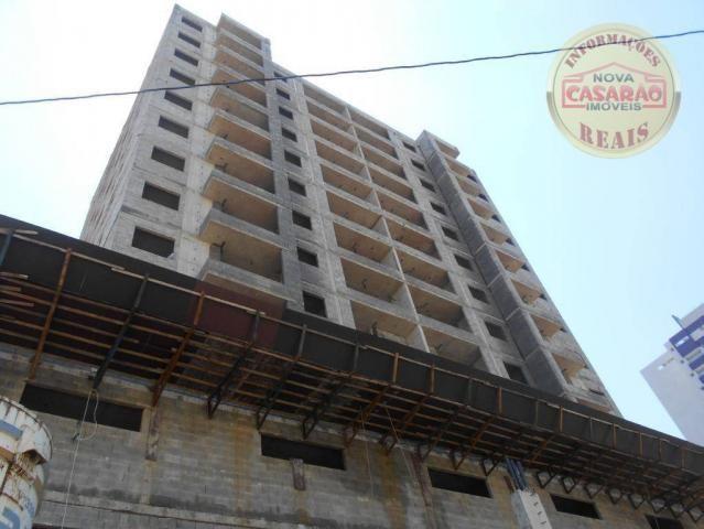 Apartamento com 2 dormitórios à venda, 72 m² por R$ 362.373 - Cidade Ocian - Praia Grande/ - Foto 3