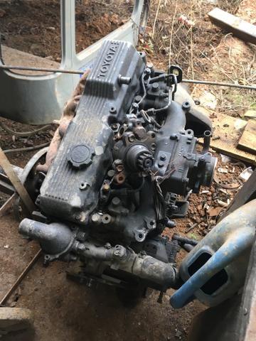 Motor 14b Toyota baixado funcionando ok