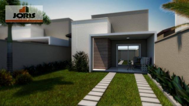 Casa com 3 dormitórios à venda, 88 m² por r$ 228.000 - pedras do ancuri - itaitinga/ce