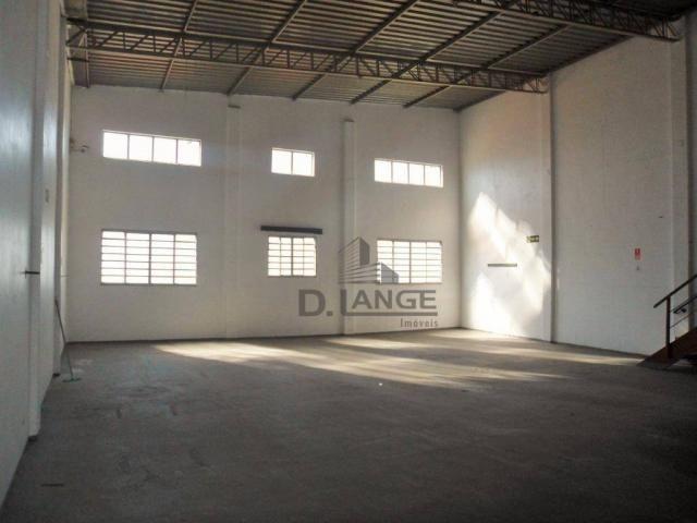 Barracão para alugar, 265 m² por r$ 4.200,00/mês - loteamento parque são martinho - campin - Foto 2