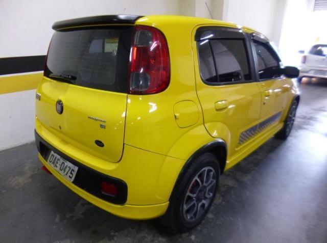 Fiat uno sporting evo 1.4 8v 4p flex 2012/2013 amarelo - Foto 8