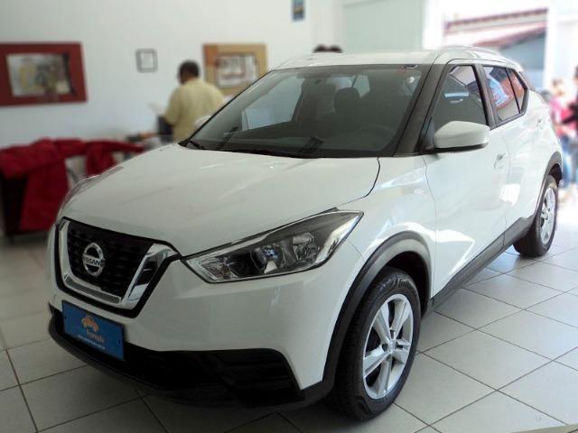 Nissan Kicks 1.6 Flex S 4P Xtronic Branco