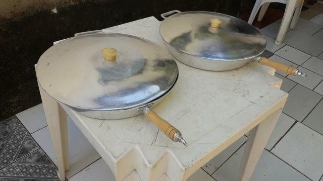 Frigideiras de alumínio batido - Foto 6