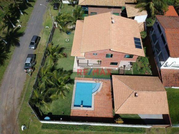 Casa com 3 dormitórios à venda, 250 m² por r$ 1.200.000 - condomínio verdes mares - ilhéus
