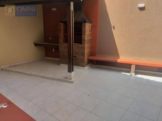 Sobrado com 4 dormitórios à venda, 208 m² por R$ 615.000,00 - Vila Valparaíso - Santo Andr