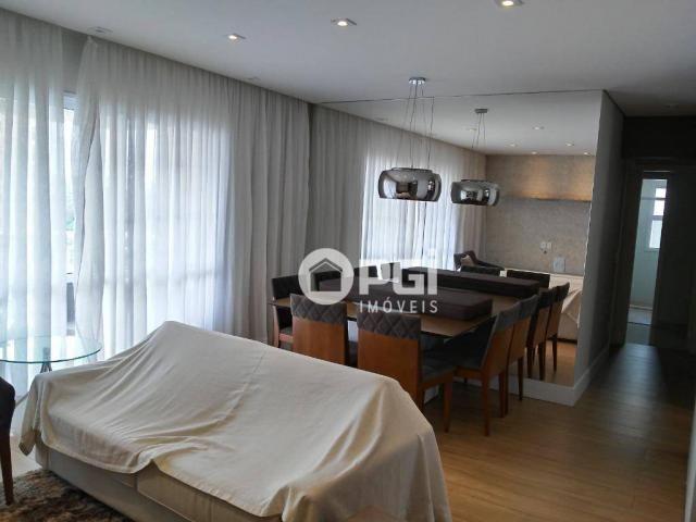 Apartamento com 3 dormitórios para alugar, 97 m² por R$ 2.500/mês - Jardim Nova Aliança Su - Foto 4